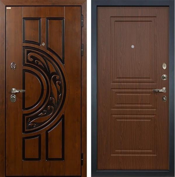 Входная металлическая дверь Лекс Спартак Cisa Береза мореная (панель №19)