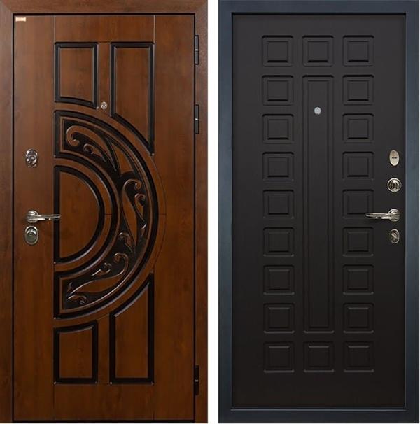 Входная металлическая дверь Лекс Спартак Cisa Венге (панель №21)
