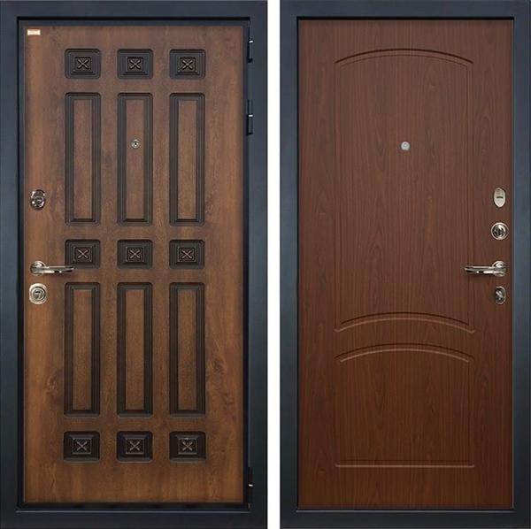 Входная металлическая дверь Лекс Гладиатор 3К Винорит Береза мореная (панель №11)