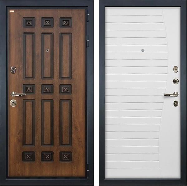 Входная металлическая дверь Лекс Гладиатор 3К Винорит Ясень белый (панель №36)