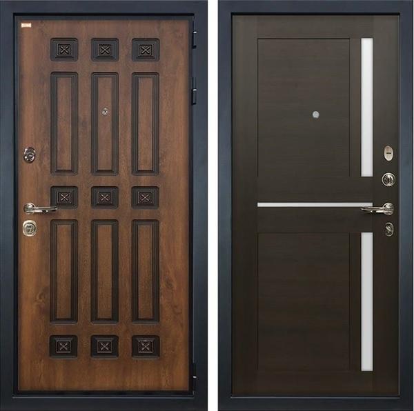 Входная дверь Лекс Гладиатор 3К Винорит Баджио Венге (панель №50)