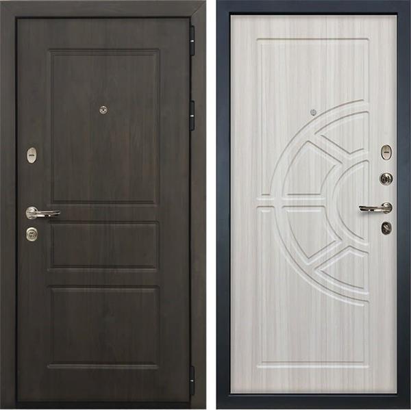 Входная стальная дверь Лекс Сенатор Винорит Сандал белый (панель №44)