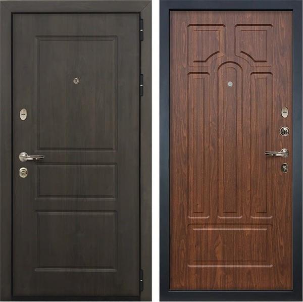 Входная стальная дверь Лекс Сенатор Винорит Берёза мореная (панель №26)