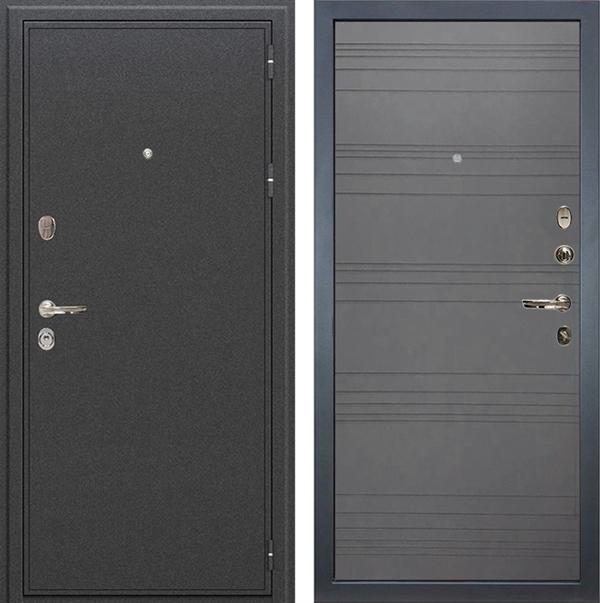 Входная металлическая дверь Лекс Колизей Графит софт (панель №70)