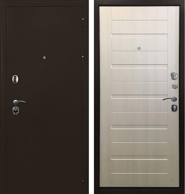 Входная металлическая дверь Ратибор Тренд 3К (Лиственница беж)