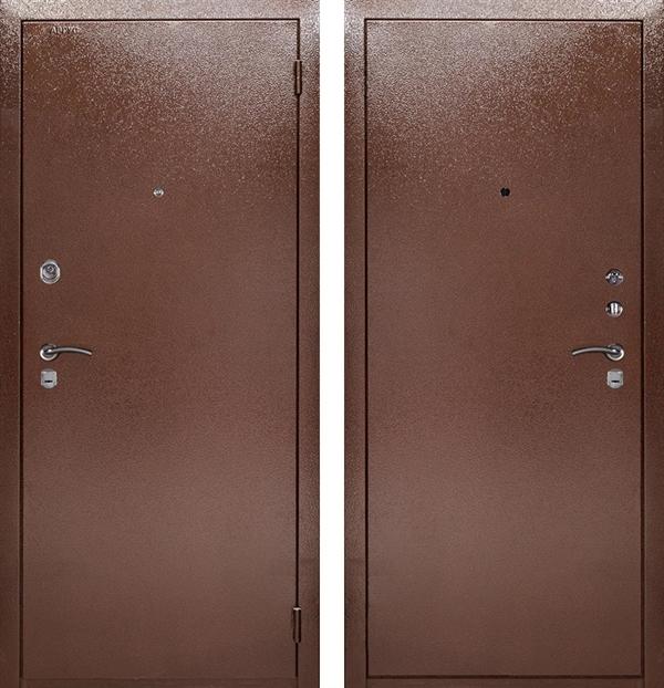 Входная металлическая сейф дверь Аргус ДА-9 (Металл / Металл)