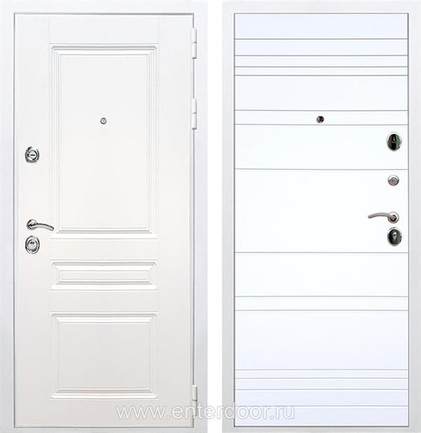 Входная металлическая дверь Армада Премиум Н ФЛ-14 (Белый / Белый софт)