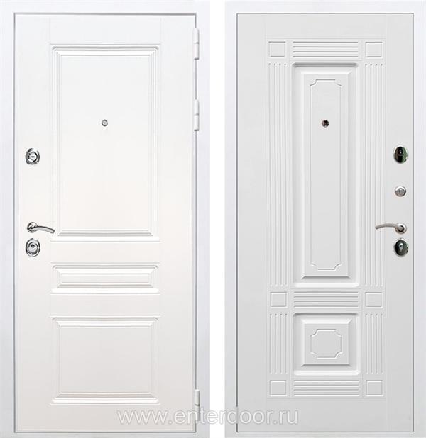 Входная металлическая дверь Армада Премиум Н ФЛ-2 (Белый / Белый)