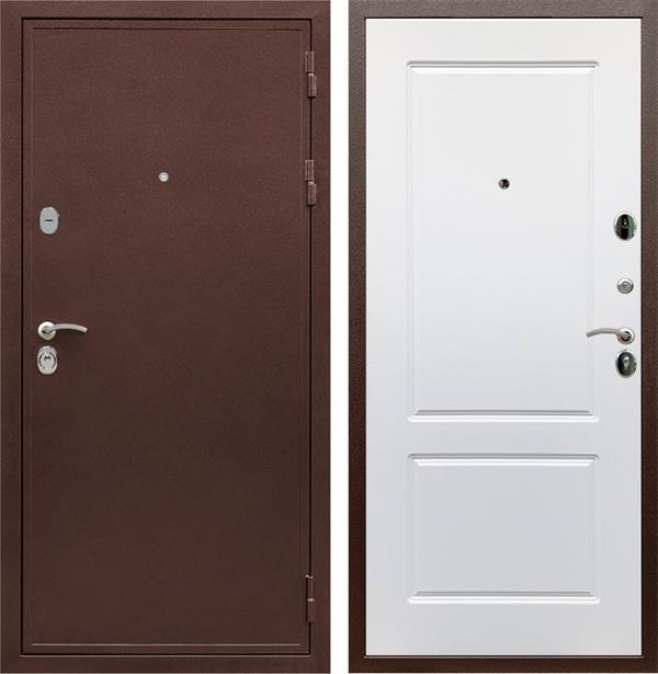 Входная металлическая дверь Армада 5А ФЛ-117 (Венге / Белый софт)