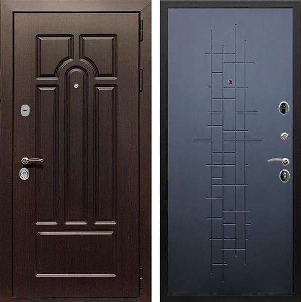 Входная металлическая дверь Армада Эврика 3К ФЛ-289 (Венге / Ясень чёрный)