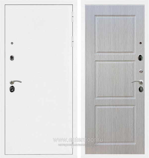 Входная металлическая дверь Армада 5А ФЛ-3 (Белая шагрень / Дуб беленый)