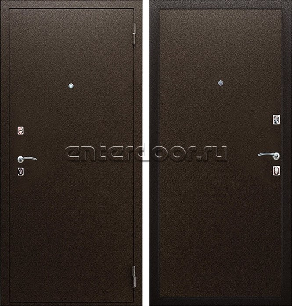 Входная металлическая дверь АСД Амазон (Металл / Металл)
