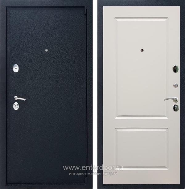 Входная металлическая дверь Армада 3 ФЛ-117 (Черный крокодил / Слоновая кость)