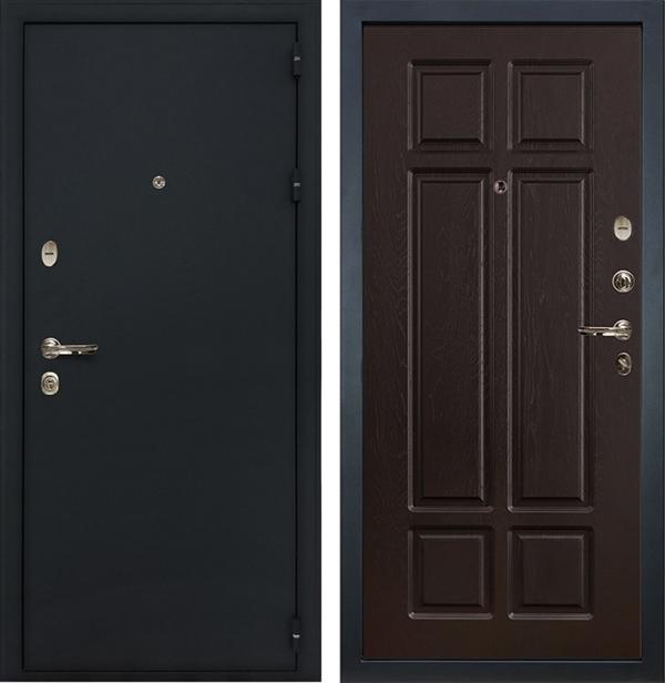 Входная металлическая дверь Лекс 2 Рим Ясень шоколад (панель №88)