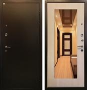 Входная металлическая дверь Ратибор Милан с зеркалом (Экодуб)