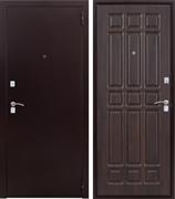 Входная стальная дверь Дачник (Венге)