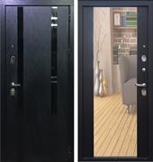Входная металлическая дверь Персона Гранд-1 с зеркалом (Венге)