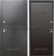 Входная металлическая дверь Армада Сити (Антик серебро / Венге)