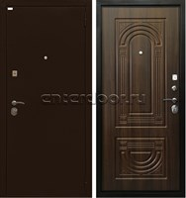 Входная металлическая дверь Ратибор Оптима 3К (Орех бренди)
