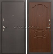 Входная металлическая дверь Лекс 1А (Берёза морёная)