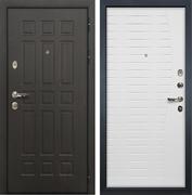 Входная металлическая дверь Лекс 8 Сенатор Волна (Венге / Ясень белый)