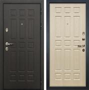 Входная металлическая дверь Лекс 8 Сенатор ФЛ-33 (Венге / Дуб беленый)