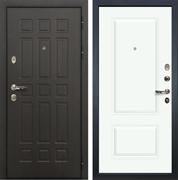 Входная металлическая дверь Лекс 8 Сенатор Вероника-1 (Эмаль белая)