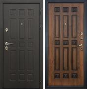 Входная металлическая дверь Лекс 8 Сенатор (Голден патина черная 33)