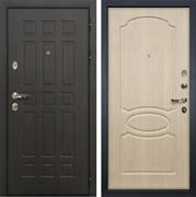 Входная металлическая дверь Лекс 8 Сенатор ФЛ-139 МДФ-12 Дуб беленый