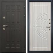 Входная металлическая дверь Лекс 8 Сенатор ФЛ-44 МДФ-12 Сандал белый