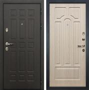 Входная металлическая дверь Лекс 8 Сенатор ФЛ-58 МДФ-16 Дуб беленый