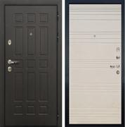 Входная металлическая дверь Лекс 8 Сенатор ФЛ-63 (Дуб фактурный кремовый)