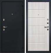 Входная металлическая дверь Лекс Рим МДФ-12 Молдинг Сандал белый