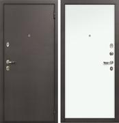 Входная металлическая дверь Лекс 1А Винорит (Белая)