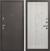 Входная металлическая дверь Лекс 1А ФЛ-44 МДФ-12 Сандал белый