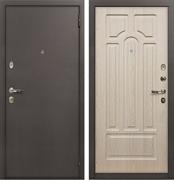 Входная металлическая дверь Лекс 1А ФЛ-58 МДФ-16 Дуб беленый
