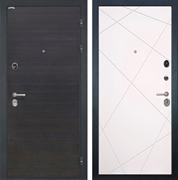 Входная металлическая дверь Интекрон Сицилия Лучи (ЭкоВенге / Милк)