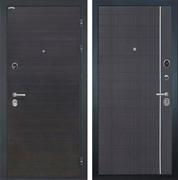 Входная металлическая дверь Интекрон Сицилия L-6 (ЭкоВенге / Венге)