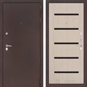 Входная металлическая дверь Лабиринт Классик 1 (Антик медный / Дуб белёный)