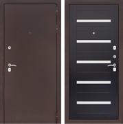 Входная металлическая дверь Лабиринт Классик 1 (Антик медный / Венге)