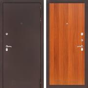 Входная дверь Лабиринт Классик 5 (Антик медный / Итальянский орех)