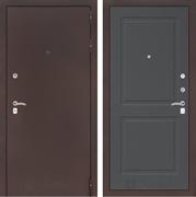 Входная металлическая дверь Лабиринт Классик 11 (Антик медный / Графит софт)