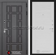 Входная металлическая дверь Лабиринт Нью-Йорк 6 (Белое дерево)