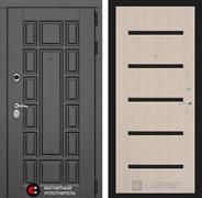 Входная металлическая дверь Лабиринт Нью-Йорк 1 (Дуб беленый)