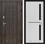 Входная металлическая дверь Лабиринт Сканди 2 (Дарк Грей / Сандал белый)