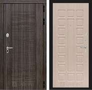 Входная металлическая дверь Лабиринт Сканди 4 (Дарк Грей / Дуб беленый)