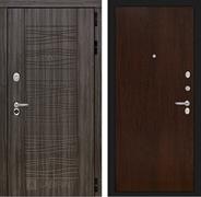 Входная металлическая дверь Лабиринт Сканди 5 (Дарк Грей / Венге)