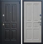 Входная металлическая дверь АСД Атлант (Венге / Беленый дуб)