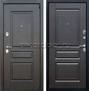 Входная металлическая дверь АСД Гермес 3К (Венге / Венге)