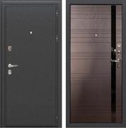Входная металлическая дверь Лекс Колизей (Антик темное Серебро / Ясень шоколад)